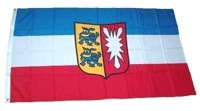 Fahne Schleswig- Holstein mit Wappen NEU 90 x 150 cm
