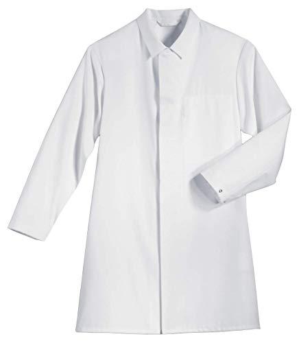 Uvex 473 Herren-Mantel - Weiße Männer-Laborantel - DIN 10524 und mit Vielfältige Taschen 56/58