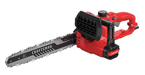 craftsman chainsaws CRAFTSMAN Chainsaw, 8-Amp, 14-Inch (CMECS614)
