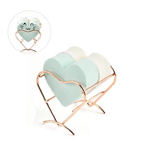 Maquillage éponge Porte-Etendoir Support Maquillage Oeuf Éponges Support Présentoir Outils De Maquillage Organisateur Case - Sweet Heart