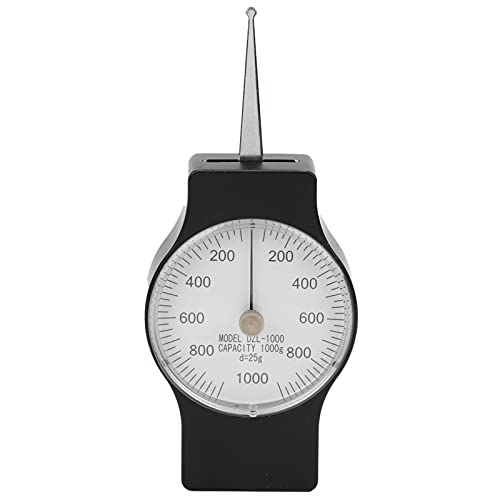 Medidor Tension, tensiómetro de calibre de tensión preciso para prueba de fuerza de tracción para válvula para presión de tracción de resorte para interruptor electrónico para presión de