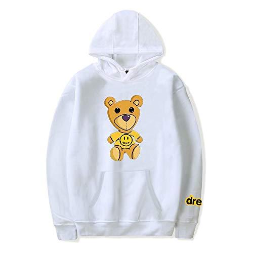 WAWNI Justin Bieber Drew Hoodies Sweatshirt Damen Herren Hip Hop Kapuzenpullover Kleidung Streetwear Sweatshirt Gr. XL, 6