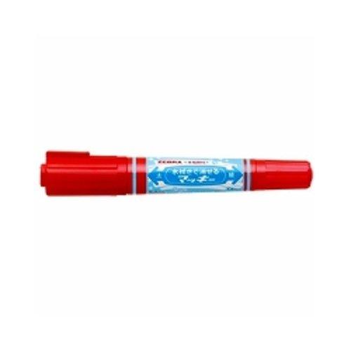ゼブラ 水拭きで消せるマッキー P-WYT17-R 赤 『 2本』
