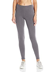 Soft cotton stretch jersey with a touch of spandex for move-with-you comfort Heavier fabric weight to prevent show-through Flattering fit Comfortable elastic waistband 29 inch inseam