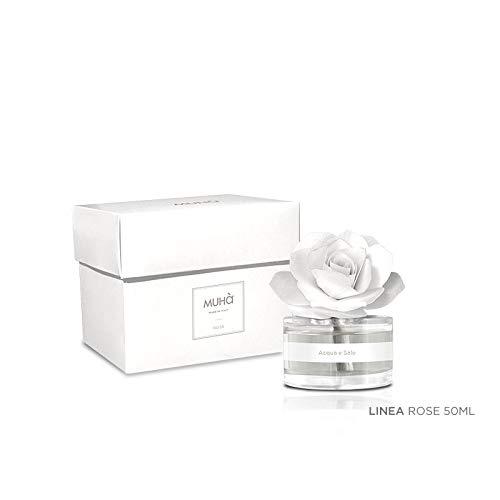 Muhà Rosa Diffuser Bianca 50ML Acqua e Sale