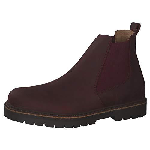 BIRKENSTOCK Damen Chelsea Boots Stalon LENU Burgundy 39