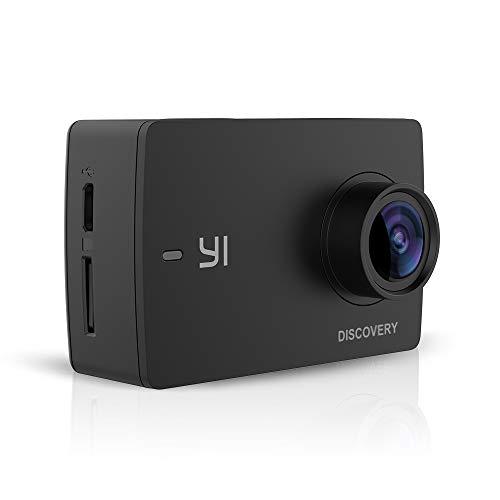 YI Discovery, fotocamera wireless 4K Action, con 2.0LCD Touch Screen, grandangolo, 150°, sensore Sony, con batteria