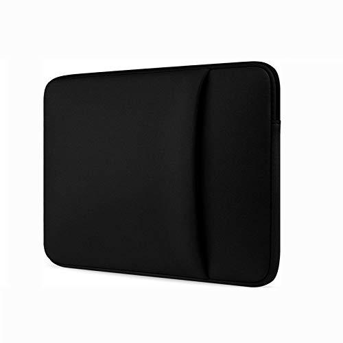 Yinghao Laptop Sleeve 11 12 13 14 15 15 6 inch notebook case Soft bag For Macbook Air Pro Retina Ultrabook 12 9 Tablet Pocket@black_For Macbook15 Retina