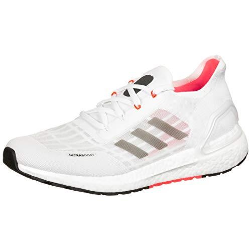 adidas Ultraboost S.RDY, Zapatillas de Running Unisex Adulto, FTWR White/Core Black/Solar Red, 45 1/3 EU