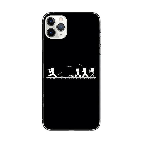 JINGJINGJIAYOU (Juegos de Minecraft) para iPhone XR / 12 / TPU Funda de teléfono antiarañazos de Silicona Parachoques para Funda Unisex