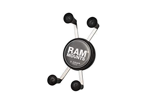 RAM X-Grip Klemme für Smartphones, inkl. Kugel für RAM Klemmarm, Gerätebreite 2,2-8,2 cm