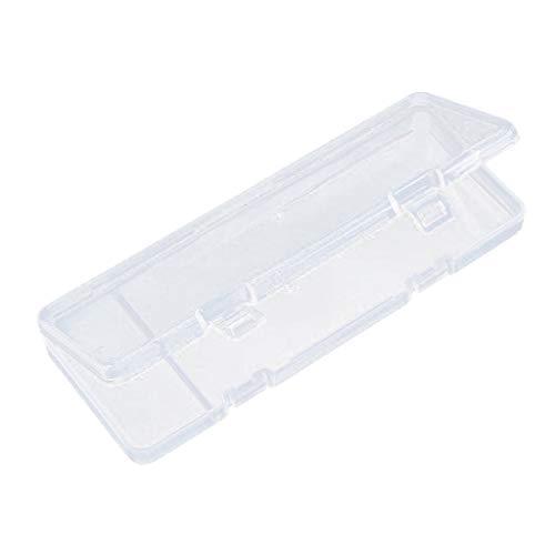 Almencla Plastic Utility Storage Box Art Craft Sewing Fun Tools Hobby Multi-Purpose DIY - Clear, 16x6.5x1.5cm