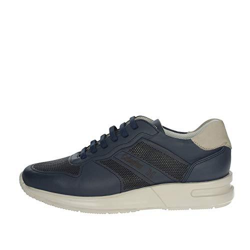 CALLAGHAN Zapatillas Bajas para Hombre, Color Azul, 91314 Turquesa 42