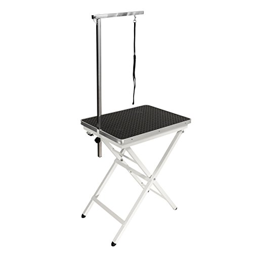 Flying Pig Grooming Mini Size Pet Dog Portable Grooming Table (Black)