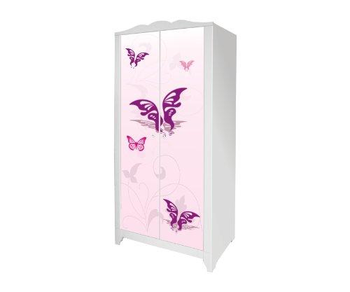 Pink-World Möbelsticker/Aufkleber für den Kinderschrank HENSVIK von IKEA - IM117