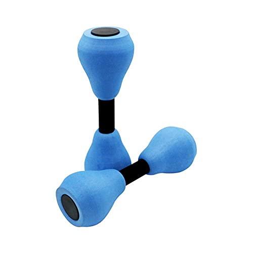 Snow Island 1 Paar Wassersport Hanteln Wasser Aerobic Schaumstoff Hanteln Schwimmbad Widerstand geeignet für Erwachsene, Kinder und Anfänger Aqua Fitness Übungsgeräte geeignet für Wasser Aerobi