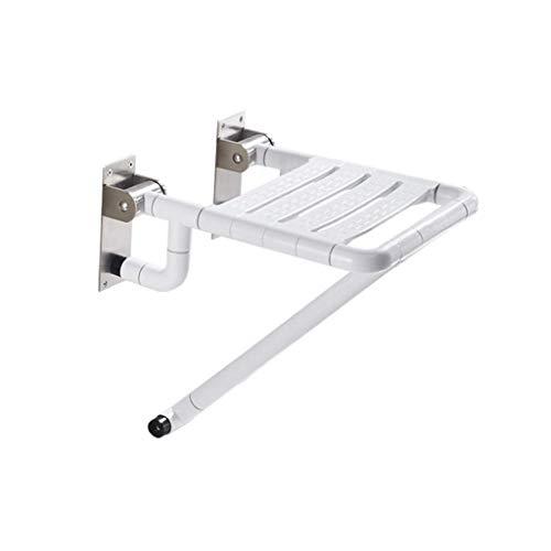 W-SHTAO L-WSWS - Silla de ducha para el baño, diseño de hombre viejo, antideslizante, plegable, asiento de ducha, silla de ducha, taburete de baño