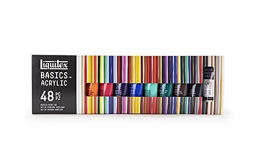 Liquitex 101048 Basics Acrylic Paint 48 Colors