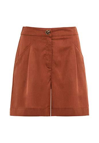 HALLHUBER Shorts aus Tencel™ weit geschnitten Kupfer, 38