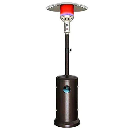 JINBAO Calentador Calefacción por Infrarrojos Gas Licuado de Petróleo Gas Natural Paraguas Estufa De Calefacción Patio Exterior Uso Interior