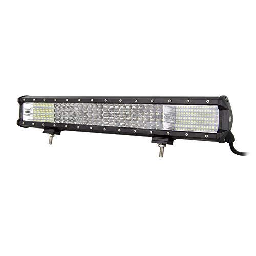 AUXTINGS 20 pulgadas 510W 4 Fila Barra de luz LED Nuevo sopo