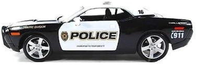 minoristas en línea Maisto Dodge Challenger Concept 2006 2006 2006 Police 1 18 by Maisto  contador genuino