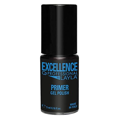 Excellence By Layla - Primer Gel Polish per Smalto Semipermanente Professionale - Asciuga Senza Lampada...