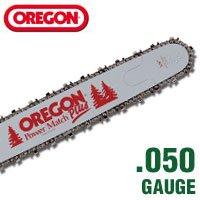 Oregon 24' Power Match Bar and 2 Chain Combo (84 Drive Links) 240RNDD009 / 72LG