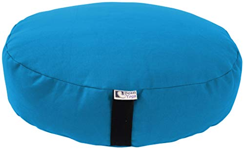 Bean Products Zafu Meditation Cushion - Yoga - Traditional Round and Oval XL - Multiple Colors and...