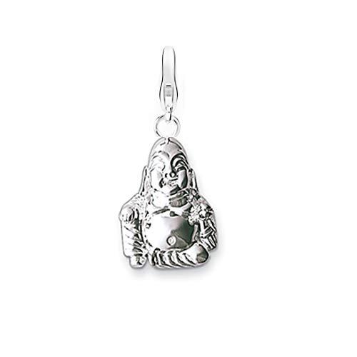 AKKi jewelry Charm Anhänger mit karabina hänger Silber Charms Charmed Swarovski krisstalle Elements bettel Armband Kette Buddha
