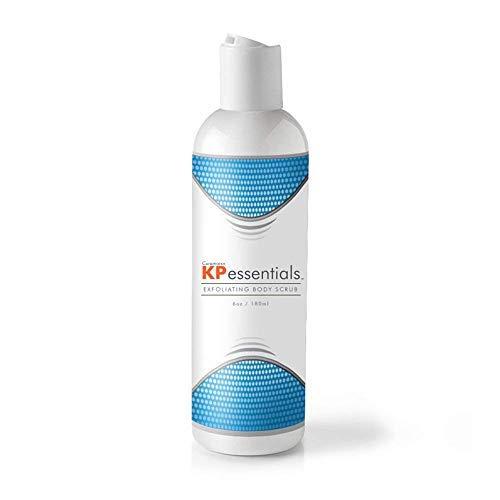 KP Essentials - Gel douche contre la kératose pilaire - Corrige les tâches et bosses de rougeur causées par la kératose pilaire pour une peau claire et uniforme, 170 g (1 bouteille).
