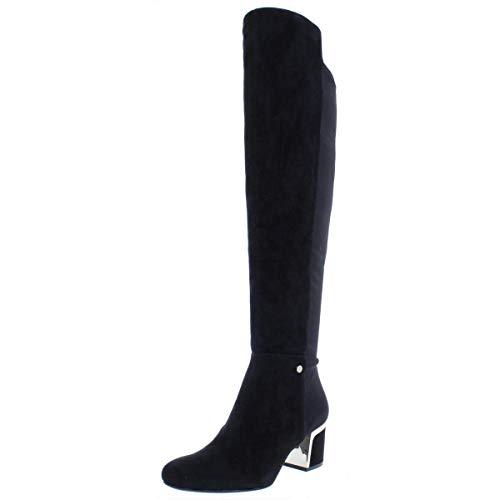 DKNY Frauen Cora Pumps rund Fashion Stiefel Schwarz Groesse 6 US /37 EU