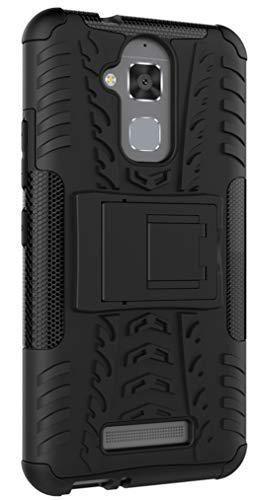 XINFENGDI Asus ZenFone 3 Max/ZC520TL Hülle,Handytasche Kratzfest aus TPU/PC Material Reifenprofil Handyhülle Kompatibel mit für Asus ZenFone 3 Max/ZC520TL - Schwarz