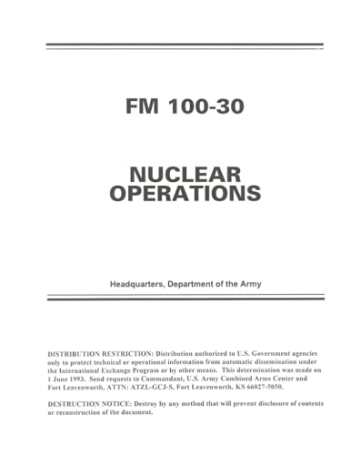 FM 100-30 NUCLEAR OPERATIONS