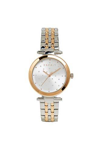 Reloj de Acero Inoxidable con Incrustaciones de circonita.