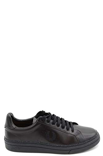 Luxury Fashion | Fred Perry Hombre MCBI36912 Negro Zapatillas | Temporada Outlet