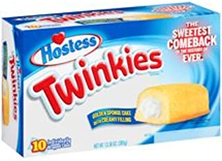 Hostess, Twinkies Cream Filled Sponge Cakes, 13.58oz Box (Pack of 4)