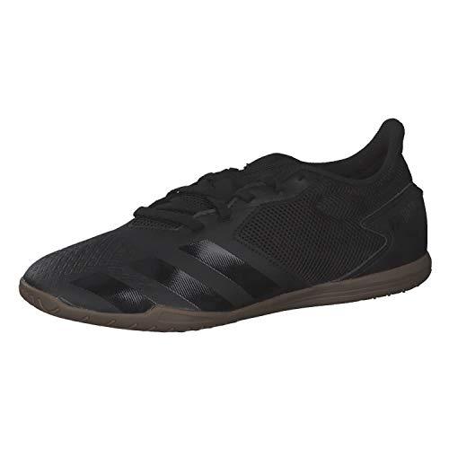 adidas Predator 20.4 IN Sala, Zapatillas Deportivas Hombre, Core Black/Core Black/DGH Solid Grey, 42 EU