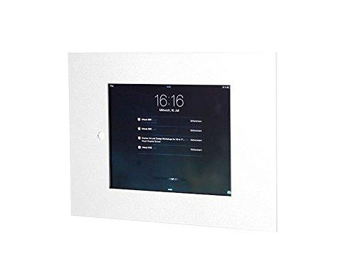 TabLines TWE040E Tablet Wandeinbau für Apple iPad mini 1/2/3, Homutton zugänglich, edelstahl