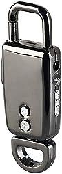 auvisio Spionage Mikrofon: Schlüsselanhänger-Voice-Recorder mit VOX-Funktion, 8 GB, 96 Stunden (Voice Rekorder)