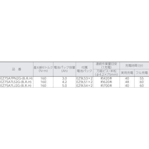 パナソニック(Panasonic)『EZ75A7LJ2G』