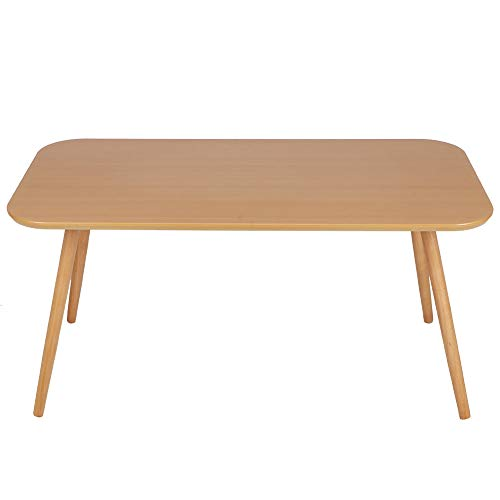 Petite Table à Manger, Table Basse en Bois Moderne, Comptoir de Cuisine de Salon, Fournitures De Bureau à Domicile, Convient Aux Familles de 2 à 4 Membres, 100x50x48.5cm