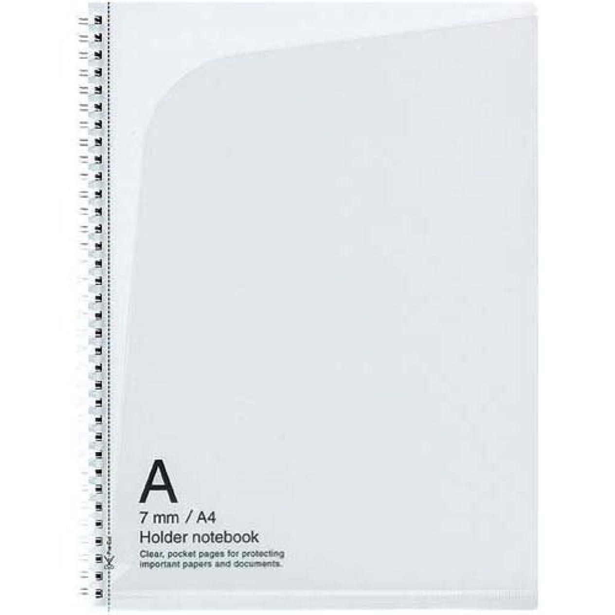 小説家増加する医薬品コクヨ ス-T238A-T ツインリングノート(ホルダータイプ)A4 A罫40枚透明 5冊セット