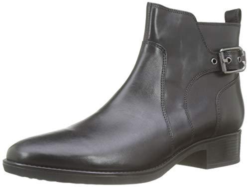 Geox Damen D FELICITY C Stiefeletten, Schwarz (Black C9999), 40 EU