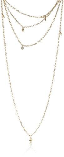 Guess Damen Halskette Metall 150.0 cm UBN80102