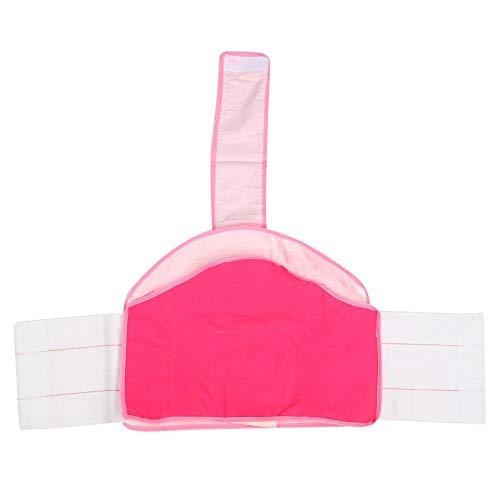 Taillengürtel Bauchbandgürtel Multifunktionale komfortable abdominal atmungsaktive Frauen Erholung(Pink (picture color))