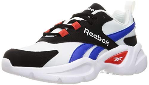 Reebok Royal EC Ride 4, Zapatillas de Running Unisex Adulto, FTWBLA/Negro/DYNRED, 40.5 EU