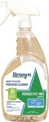 High material Renown REN02747-MS service Ready To Clean 1 peroxide quart. Cleaner