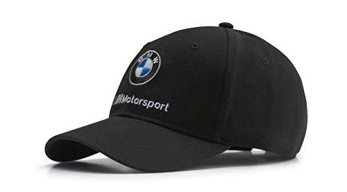PUMA BMW M Motorsport Black Team Logo Hat