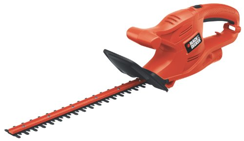 Black & Decker TR116 3-Amp Hedge Trimmer, 16-Inch